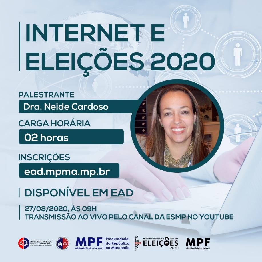 Webnário: Internet e Eleições 2020