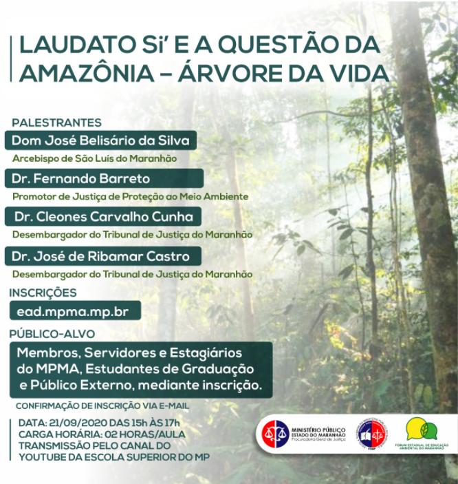 LAUDATO Si' E A QUESTÃO DA AMAZÔNIA - ÁRVORE DA VIDA