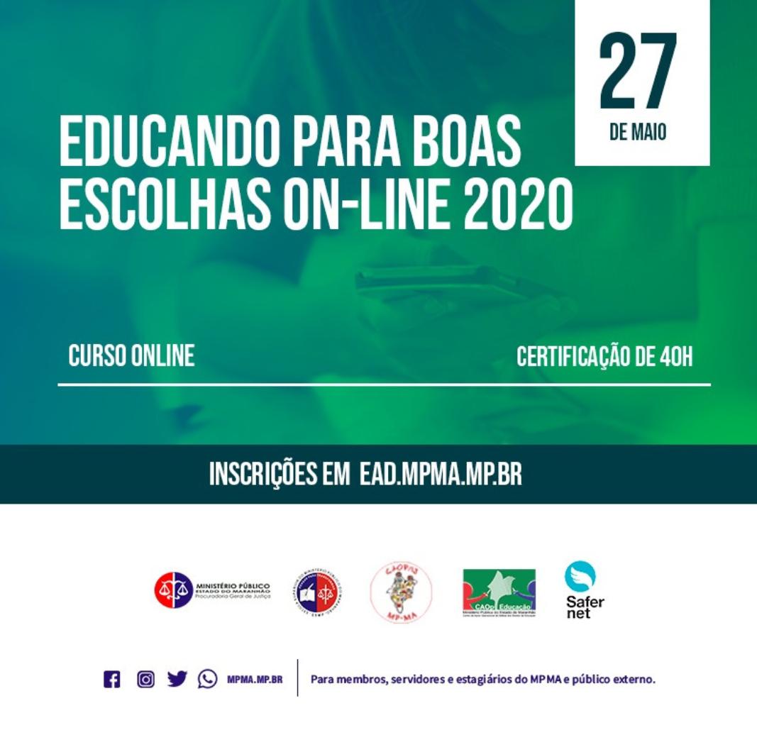 """Educando para Boas Escolhas Online:   Formação a Distância sobre o uso Seguro e Consciente da Internet""""."""