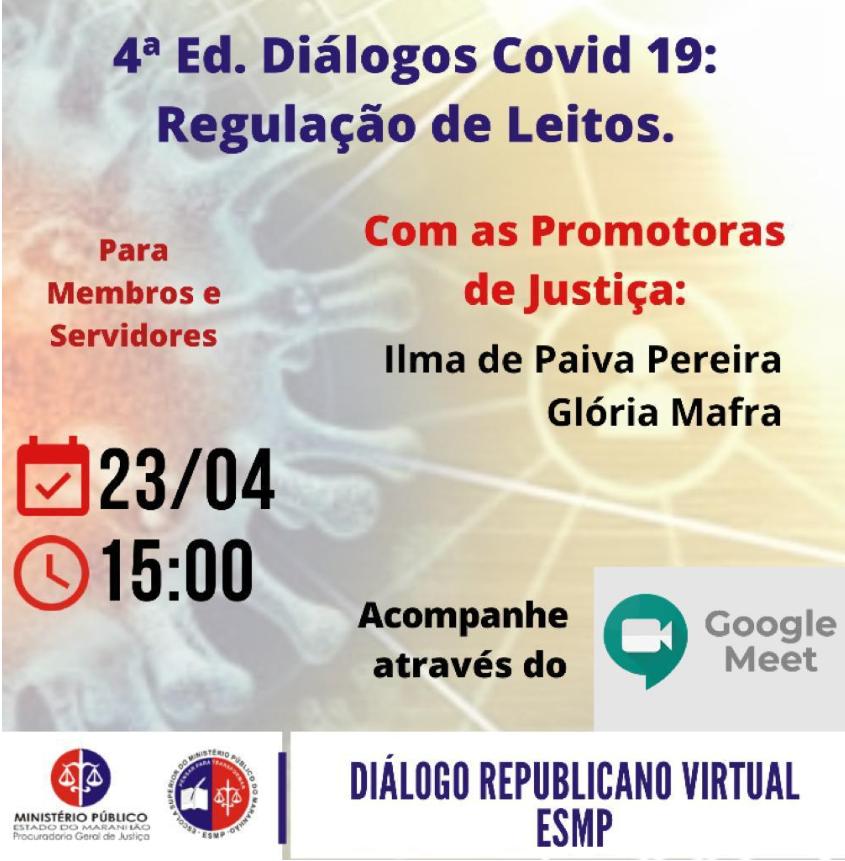 4ª Edição Diálogos COVID-19: Regulação de Leitos