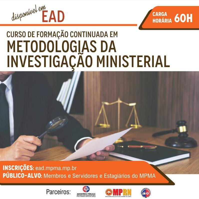 Curso de Formação Continuada em Metodologias da Investigação Ministerial T1