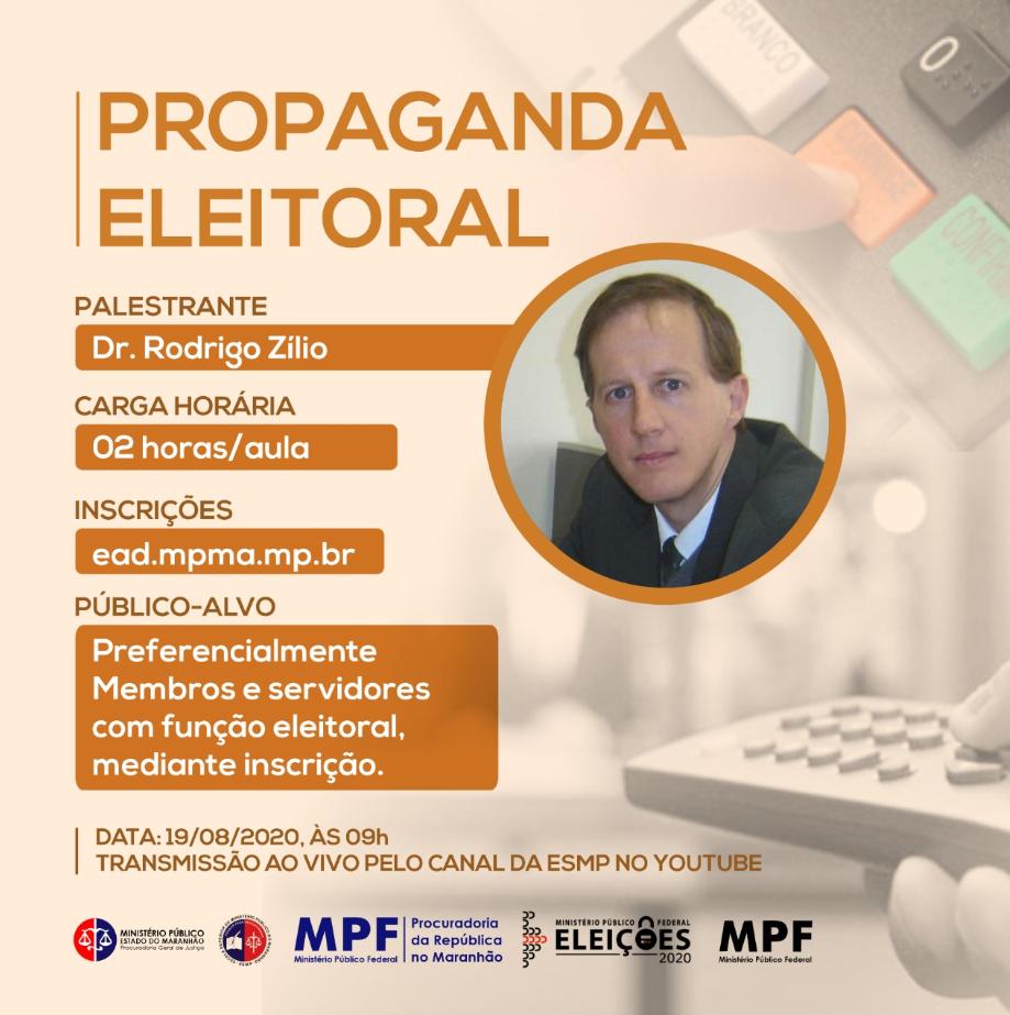 Webnário: Propaganda Eleitoral